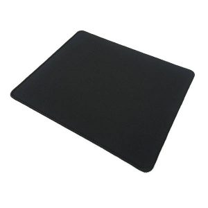 Gaming muismat zwart mousepad game pc zwart klein met anti-slip edge lock
